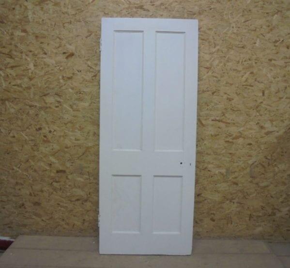 Tall White 4 Panelled Door