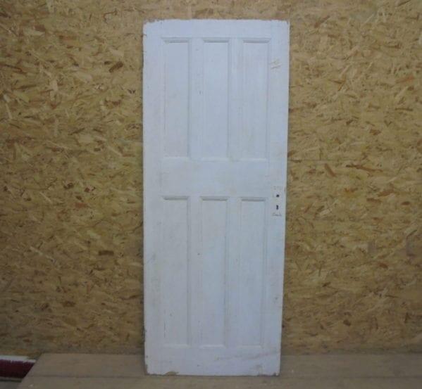 Painted 6 Panelled Door 3 Over 3