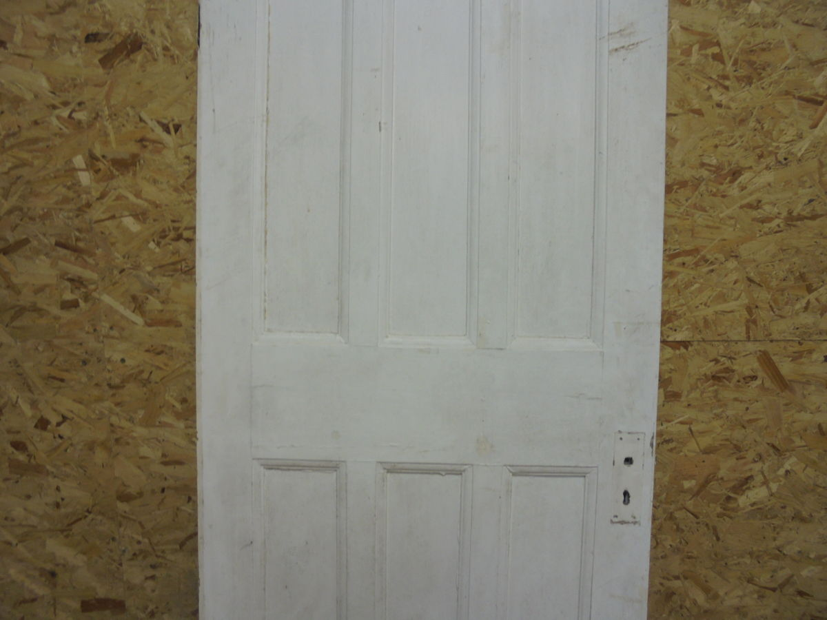 Painted 6 Panelled Door 3 Over 3