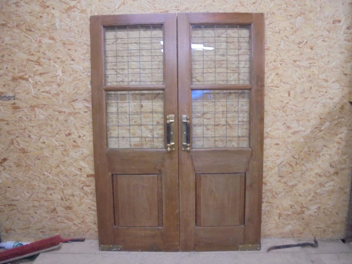 Dark Oak Pub Doors