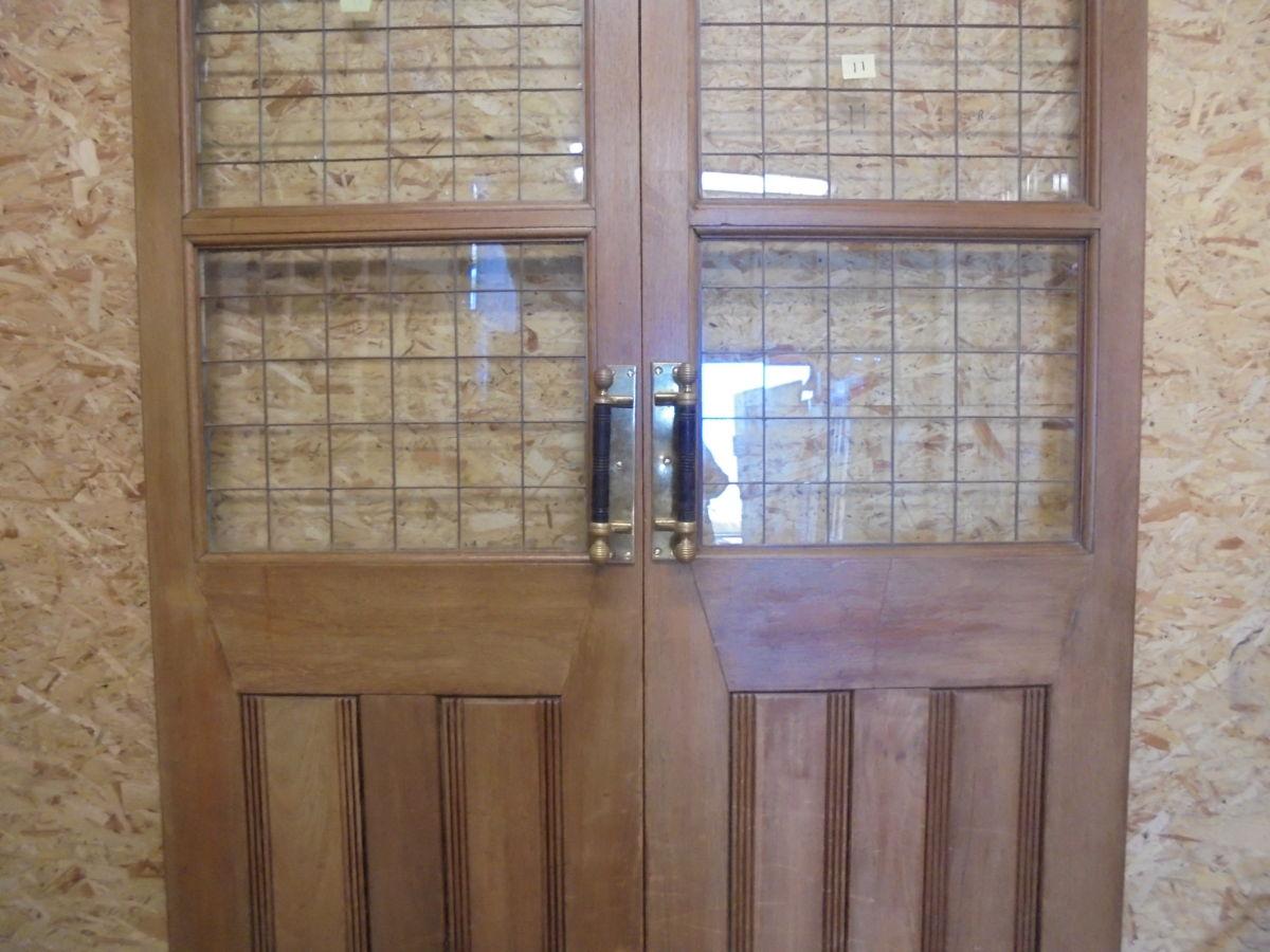 Large Dark Oak Double Doors