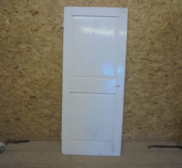 Short White 2 Panelled Door