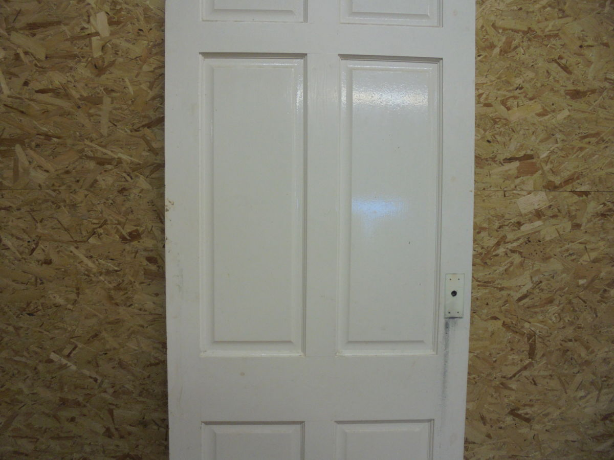 Trim White 6 Panelled Door