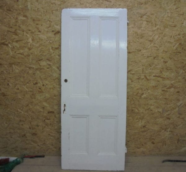 White Large 4 Panelled Door