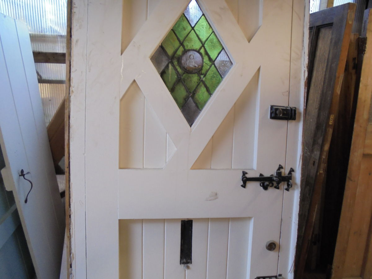 Custom Oak Front Door