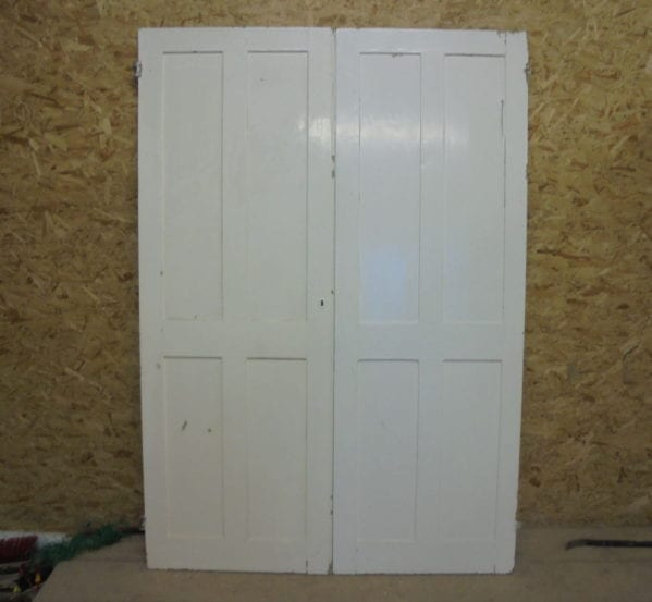 Light White 4 Panel Doors