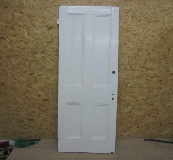 White Door 4 Panels