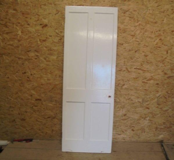 Narrow Trim 4 Panelled Door