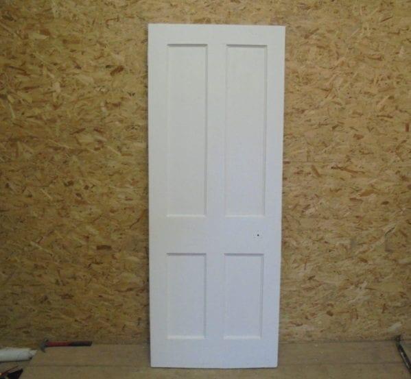 White Posh 4 Panelled Door
