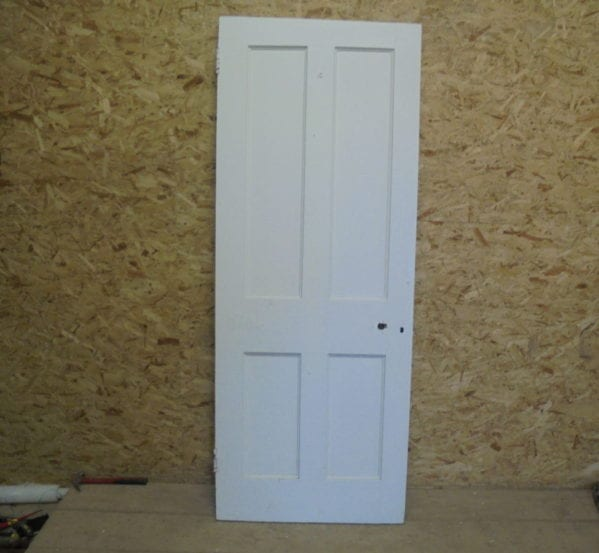 Tasty White 4 Panelled Door