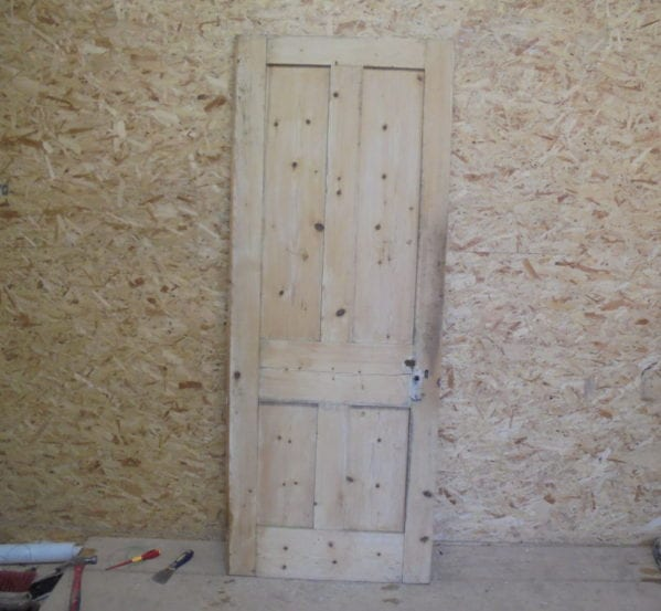 Stripped 4 Panelled Character Door