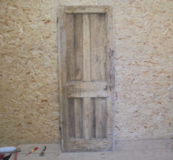 Stripped Nice 4 Panelled Door
