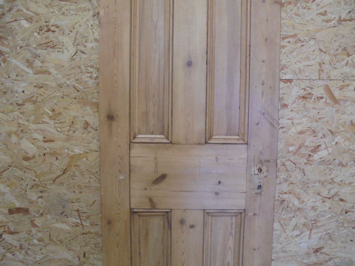 Stripped 4 Panelled Narrow Door