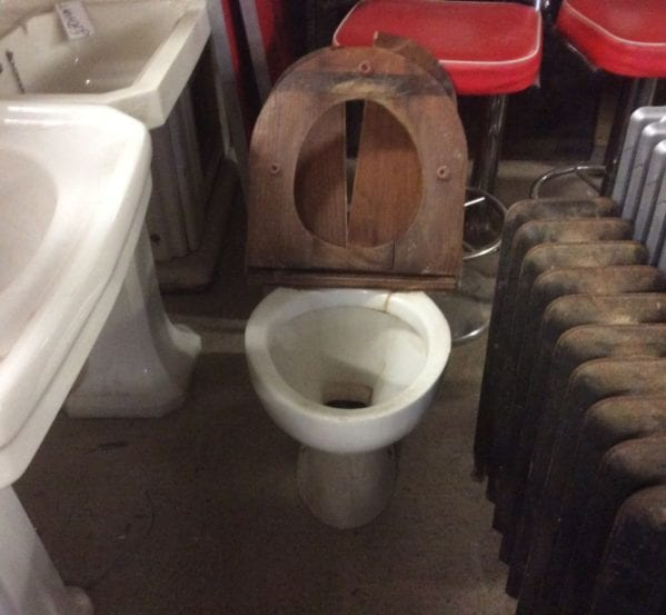 Reclaimed Toilet