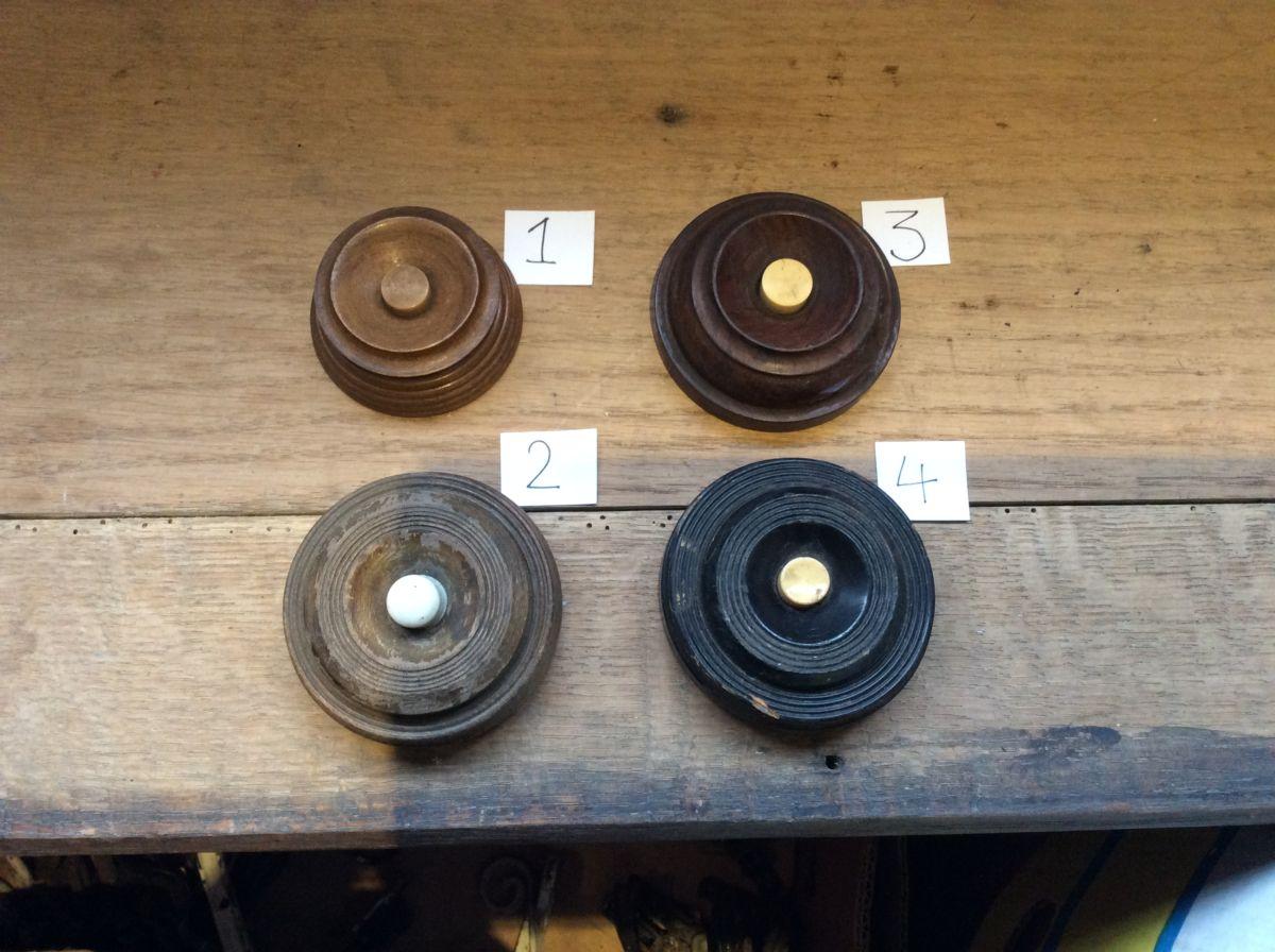 Selection of Large Wooden Door Bells