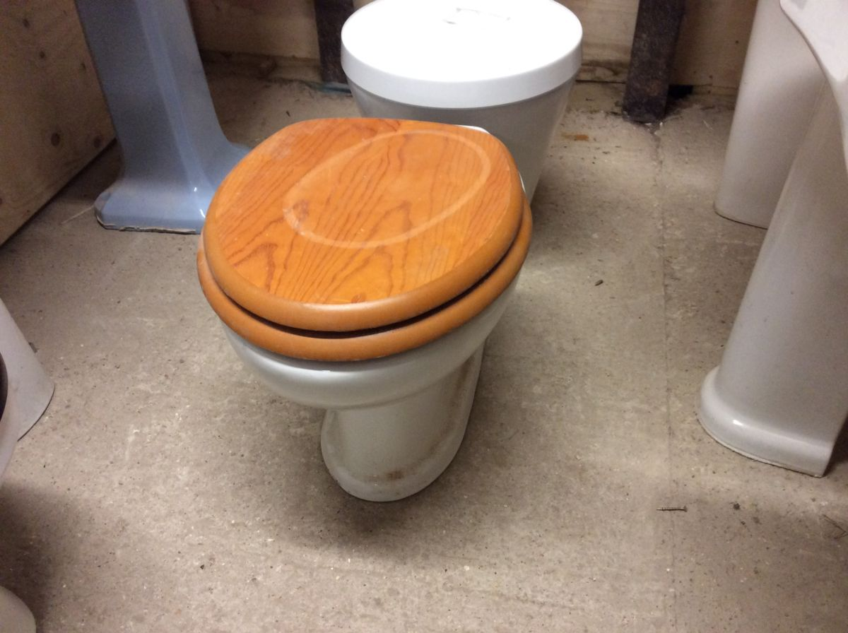Beautiful Modern Reclaimed Toilet