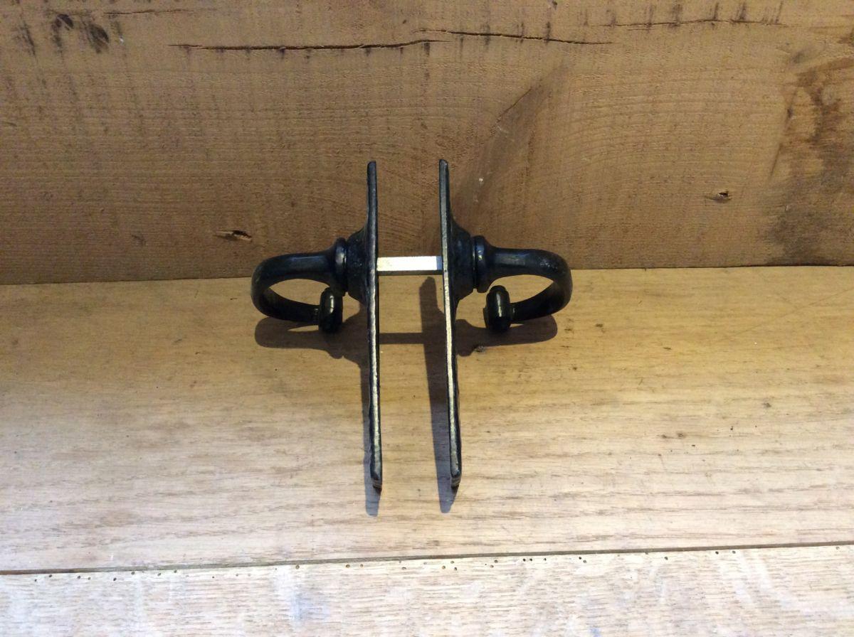 Hammered Cast Iron Door Handles