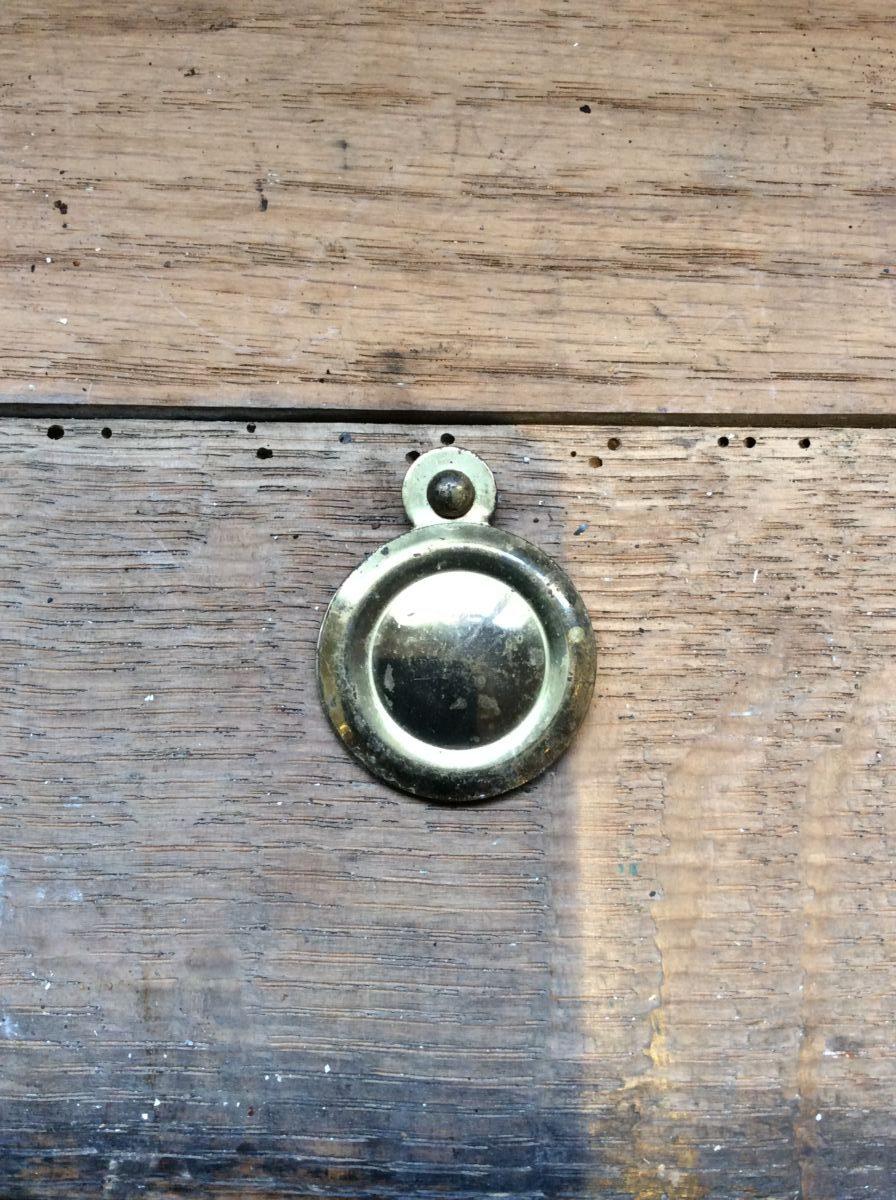 Simplistic Round Brass Escutcheon and Cover
