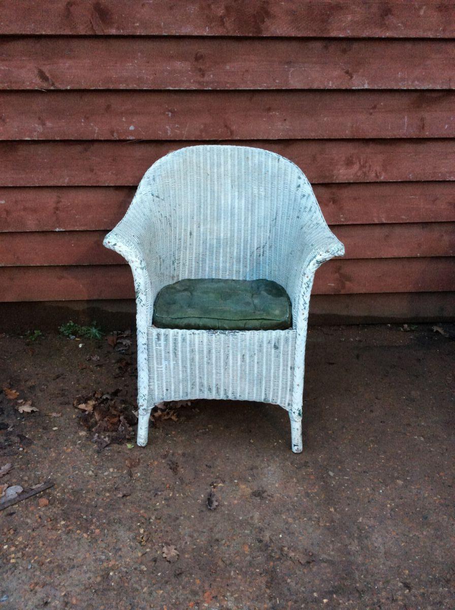 Lloyd Loom Chair