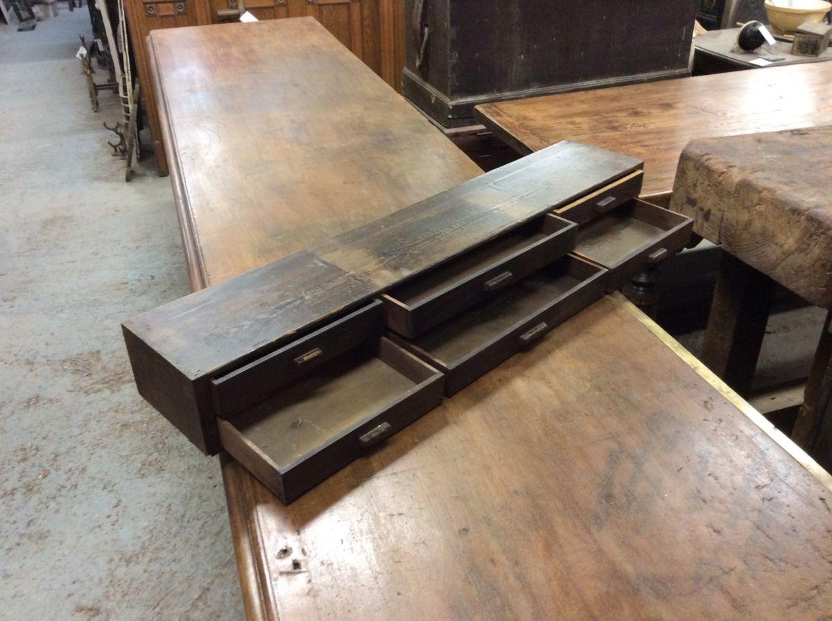 Wooden Countertop Drawers