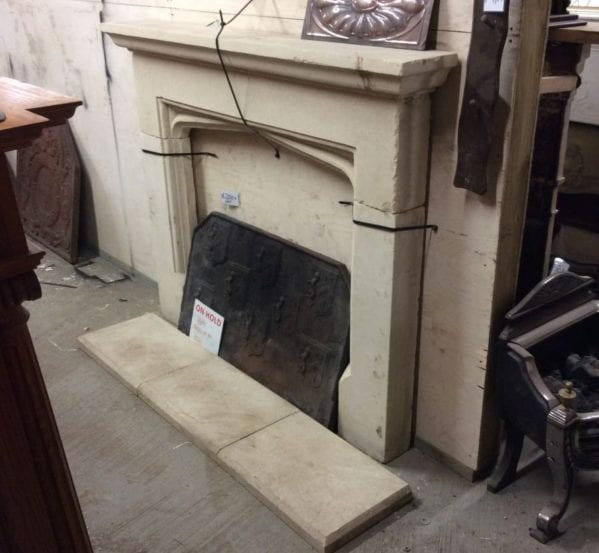 Stone Fire Surround & Hearth