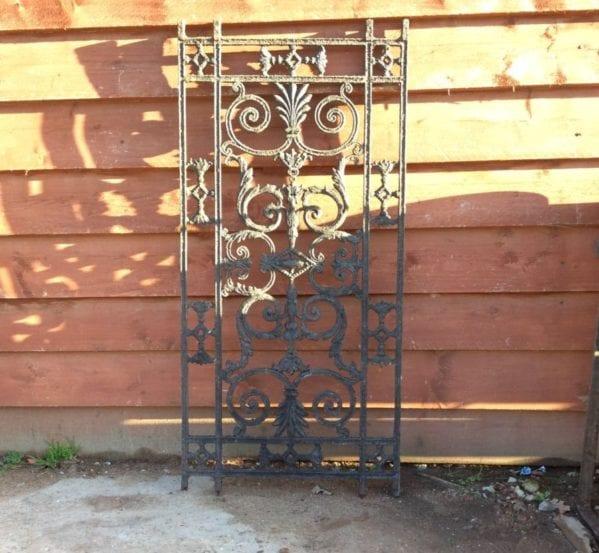 Decorative Cast Iron Panelling