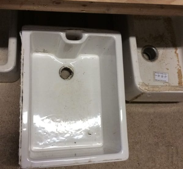 Large Rectangular Reclaimed Belfast Sink