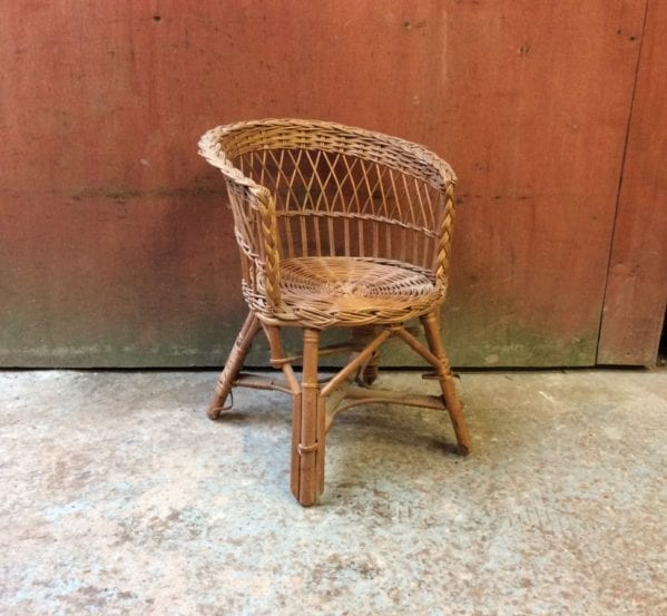 Small Wicker Chair