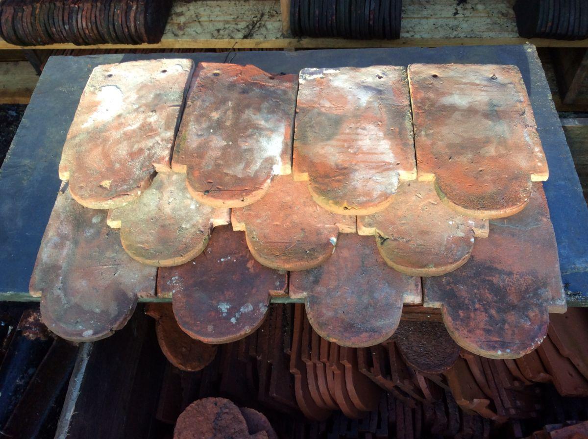Handmade Reclaimed Clay Club Tile