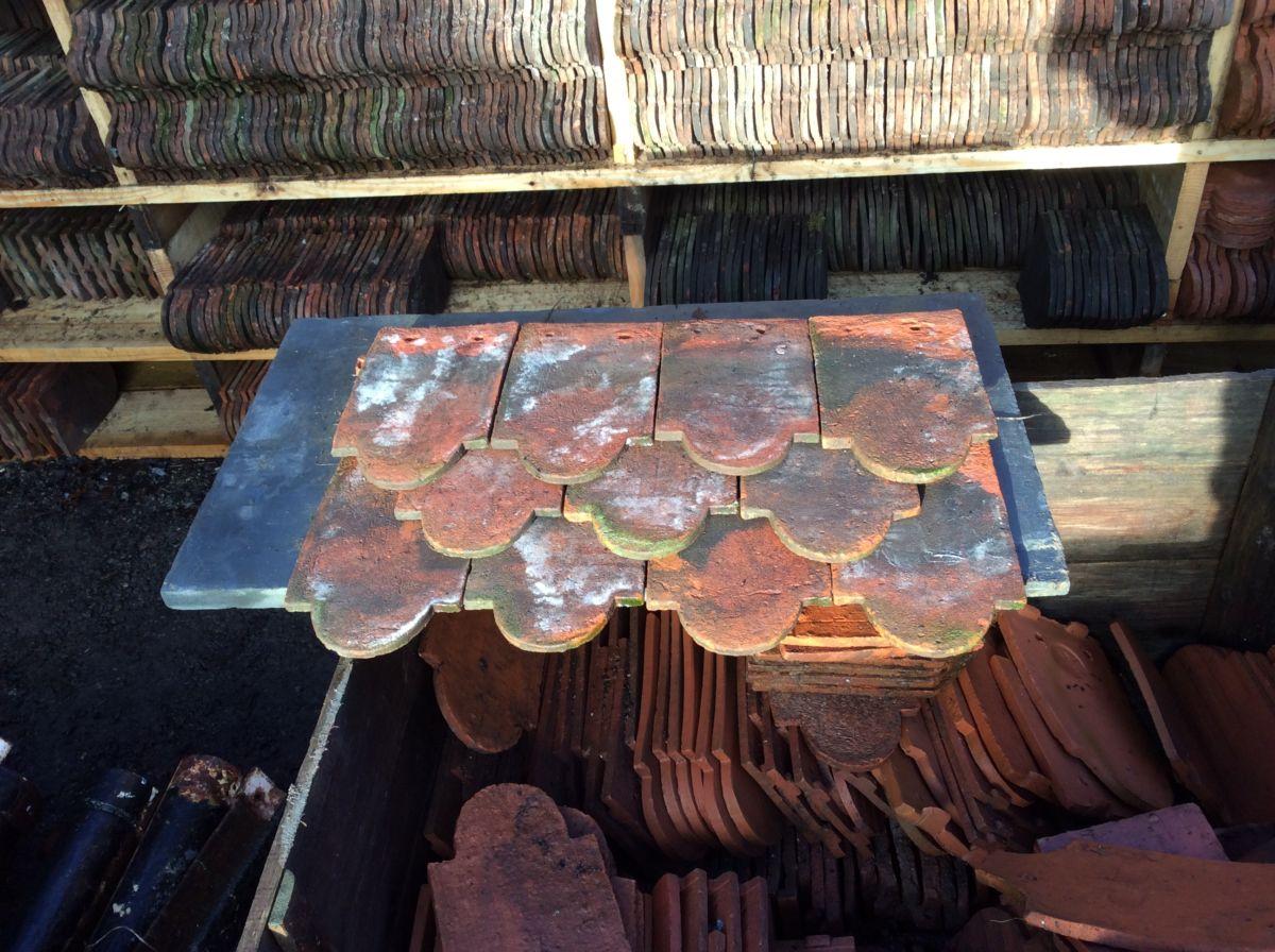 Reclaimed Ornamental Handmade Club Tile