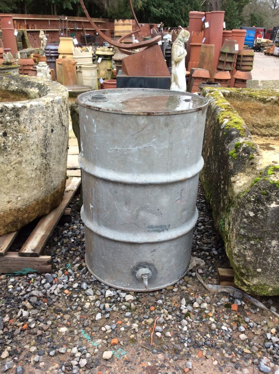 Galvanised Tin Oil Container