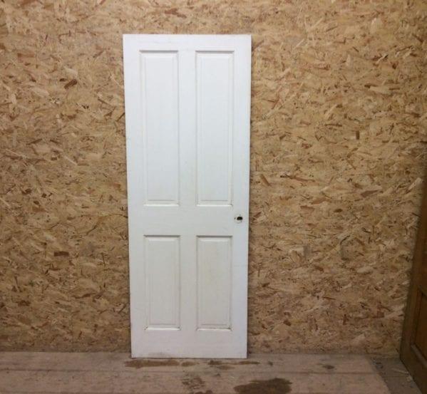 Slim Reclaimed Painted 4 Panel Door
