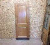 Reclaimed 2 Panelled Fully Beaded Oak Door