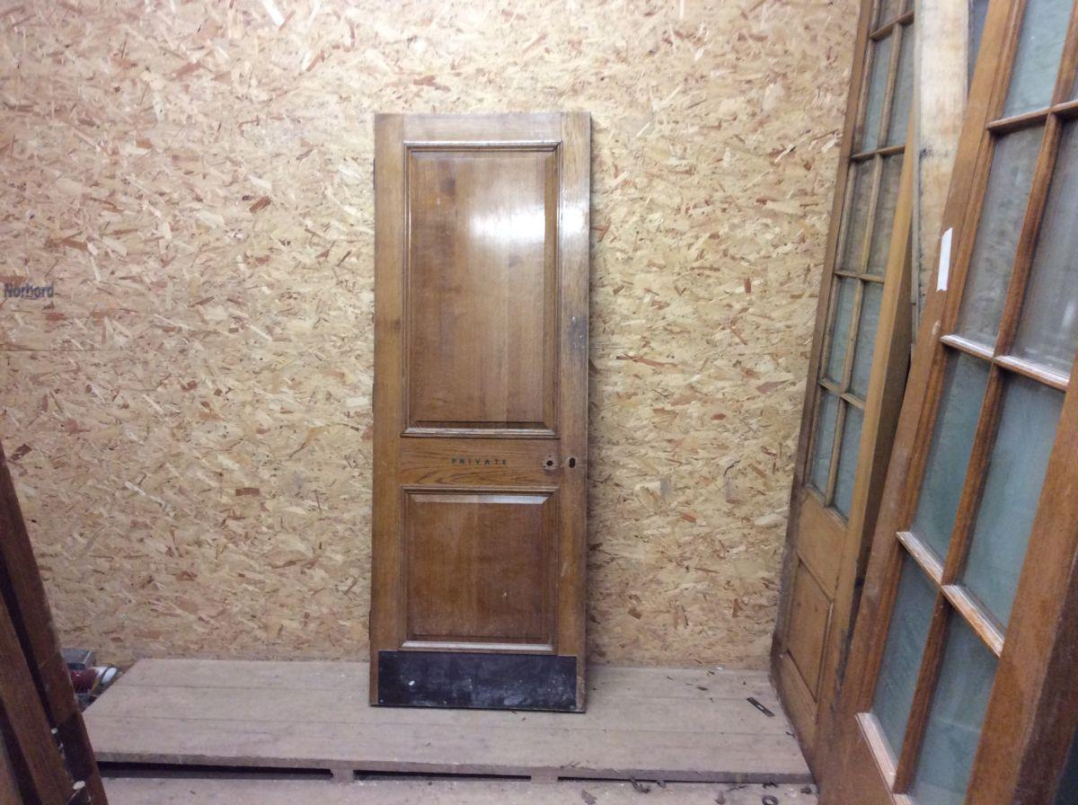 Reclaimed Partially Beaded 2 Panel Door