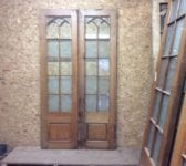 Wentworth Golf Club Half Glazed Oak Double Doors