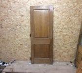 Varnished Reclaimed Wentworth Oak Door