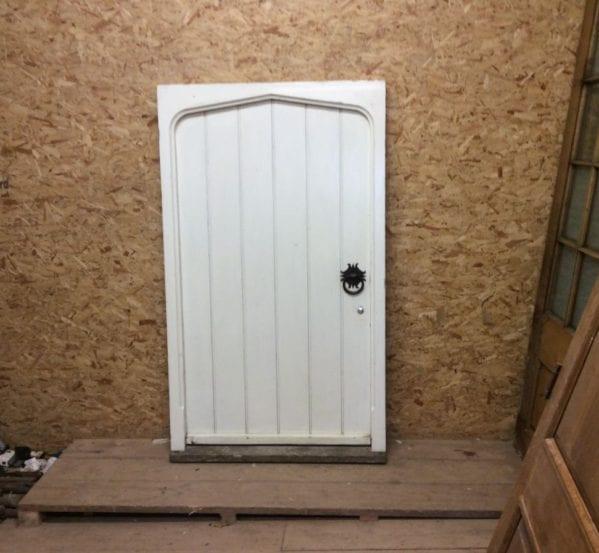 Reclaimed Wide Framed Ledge & Brace Door