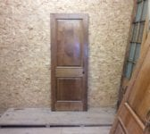 Reclaimed Varnished Wentworth Oak Door