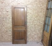 2 Panelled Reclaimed Beaded Oak Door