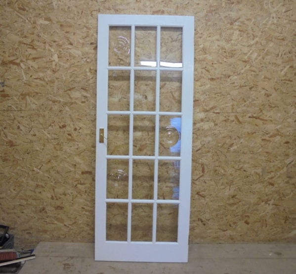 Gorgeous White 15 Panel Glazed Door