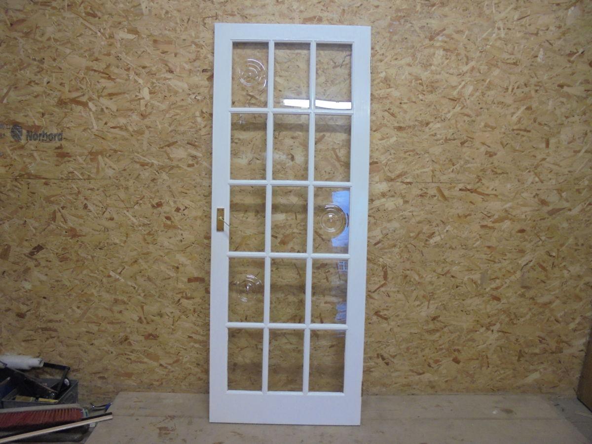 Gorgeous White 15 Panel Glazed Door
