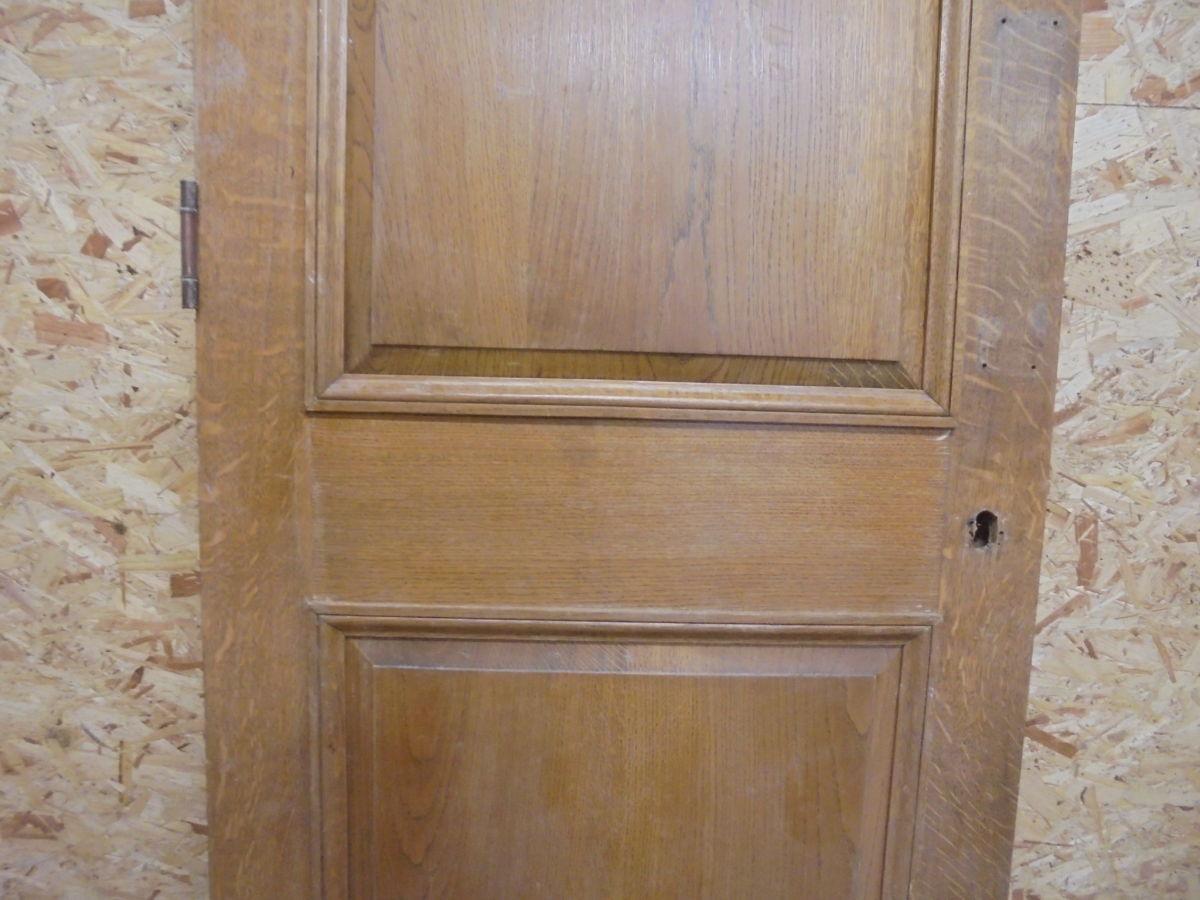 Vintage Oak 2 Panelled Door