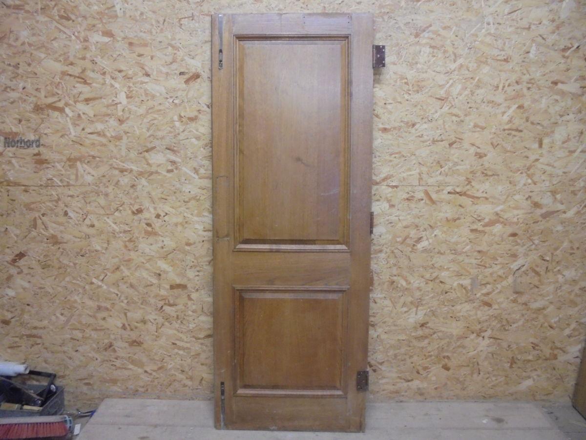 2 Panelled Oak Vintage Door