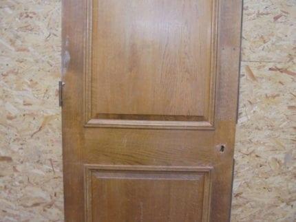 Oak 2 Panelled Door Vintage
