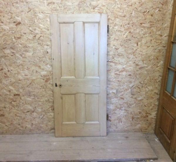 Pine 4 Panel Stripped Reclaimed Door