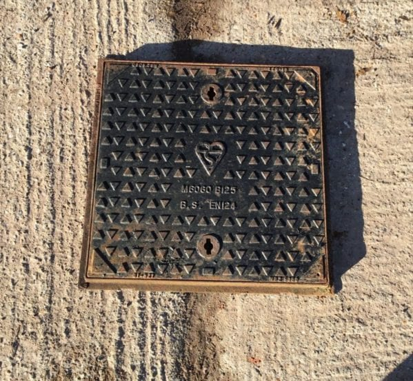 Square Man Hole Cover & Frame