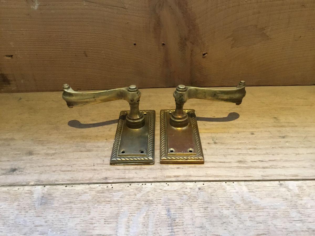 Brass Beading Door Handle