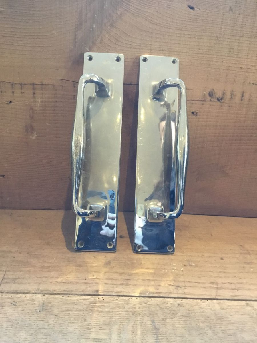 Chrome Plated Pull Handle