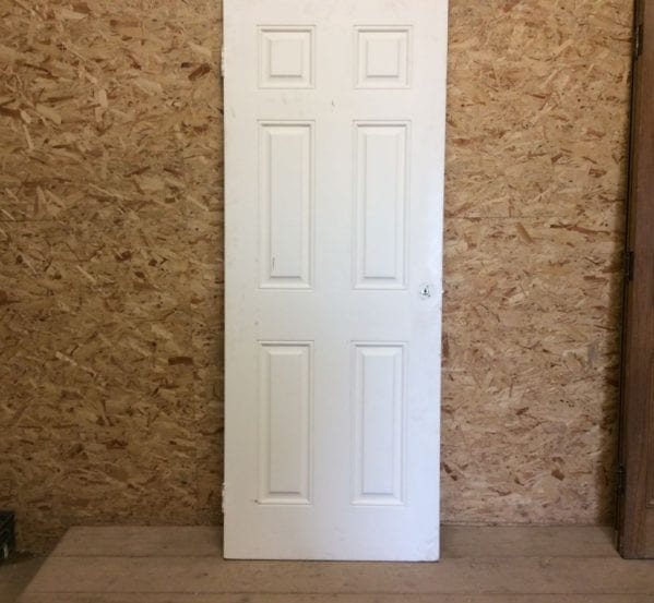 White 6 Panelled Door