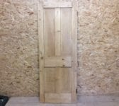 4 Panelled Natural Finish Stripped Door